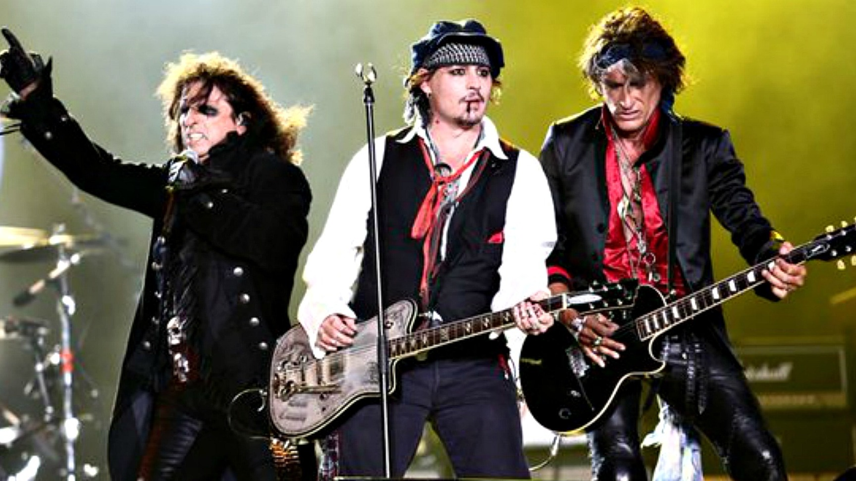 Johnny Depp And The Hollywood Vampires Tour Dates Runway