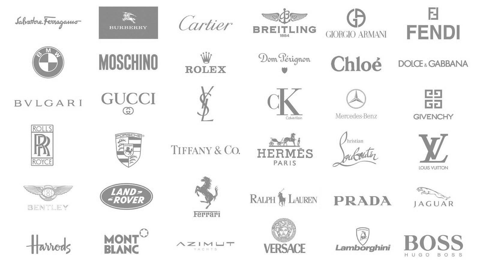 top 9 luxury brands runway  u00ae magazine official Famous Clothing Logos Clothing Company Logos and Apparel